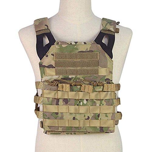 XUE JPC - Chaleco táctico Militar para Caza, para Uso al Aire Libre, Uniforme y Equipo de Combate