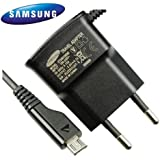 Samsung Chargeur secteur pour Samsung Galaxy S/S2/S3/SL/S Plus/S Pro/S Advance 220 V Noir