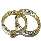 Cardinal Stylish Party Wear Bangles/Bracelet/Kada Traditional Jewellery For Women/Girl(Pack of 2)