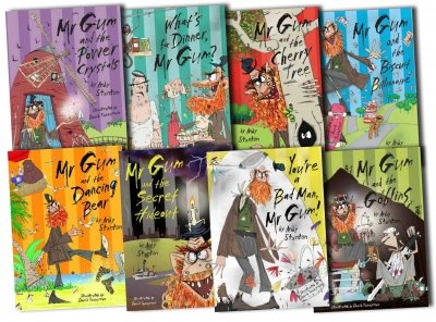 Mr Gum Collection 8 books Box Gift Set Pack RRP £47.92 (Andy Stanton Collection) (Mr Gum Collection) (You're A Bad Man Mr Gum, Mr Gum & Biscuit Billionaire, Mr Gum & The Goblins, Mr Gum & The Power Crystals, Mr Gum & The Dancing Bear, What's for Dinner, Mr Gum?, Mr Gum and the Cherry Tree, Mr Gum and the Secret Hideout)