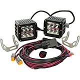 Rigid Industries 50211 D2 Wide LED Light, (Set of 2) by Rigid Industries