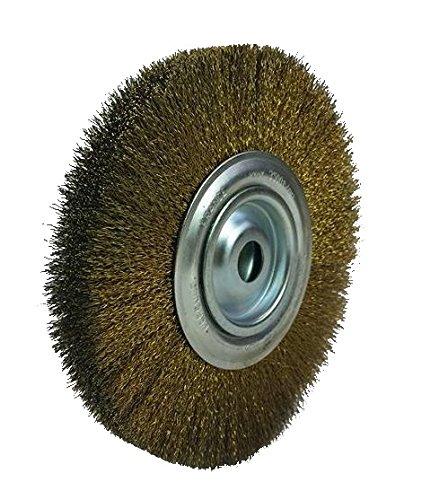 Brosserie Cardot - Hercule 5962440 Brosse circulaire en Laiton Ø 200 mm