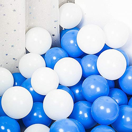 100 stücke Baby Blau/Rosa Luftballons Geschlecht Offenbaren Ideen Baby Dusche Luftballons Junge/Mädchen Baby Shower Party Decorations10 zoll (Dusche Junge Ideen)