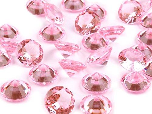 Schnoschi Dekosteine viele Farben/Größen, Streudeko, Tischdeko, Hochzeitsdeko, Diamanten, Kristall