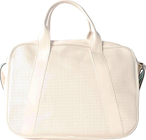 adidas Unisex Airliner Perforated Tasche Chalk White/Green
