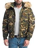 Navahoo Herren Jacke Steppjacke Sky Captain Camouflage Gr. L