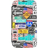 Akashi ALTJ533709 Etui folio pour Samsung Galaxy J5 Motif Broadway