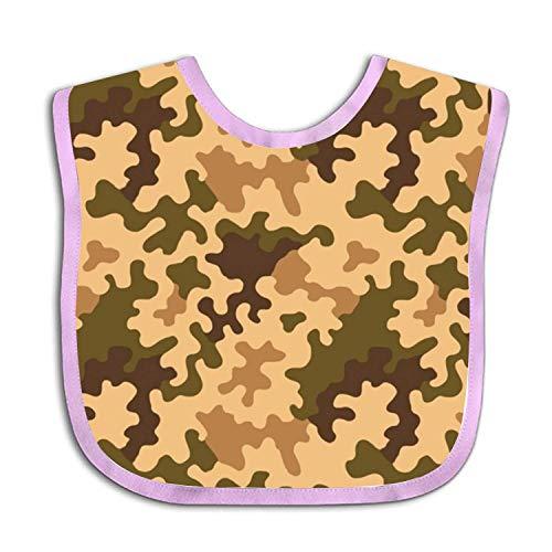 Camouflage Dark Green Infant Baby Bib Camouflage-baby-bib