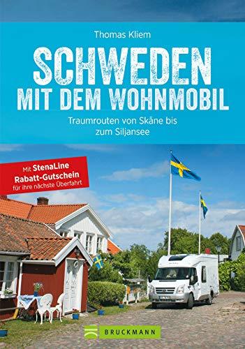 Schweden mit dem Wohnmobil: Traumrouten von Skåne bis zum Siljansee: Der Wohnmobil-Reiseführer mit Straßenatlas, GPS-Koordinaten zu Stellplätzen und Streckenleisten (Wohnmobil-Führer)