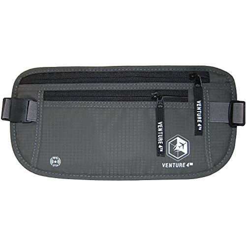 money-belt-for-travel-rfid-safe-hidden-waist-stash-for-passports-and-documents-by-venture-4th-grey