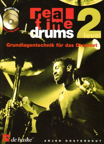 Real Time Drums Level 2, m. Audio-CD