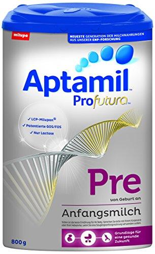 Preisvergleich Produktbild Aptamil Profutura Pre Anfangsmilch von Geburt an,  4er Pack (4 x 800 g)