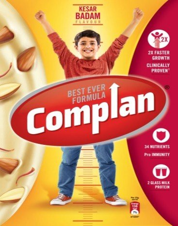 Complan Kesar Badam Flavour 500g