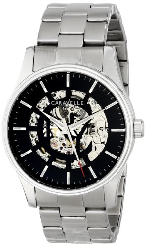 Caravelle New York Men's 43A124 Stainless Steel Automatic Watch
