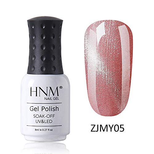HNM Vernis Semi-Permanent Starry 3D Oeil de Chat Gel Vernis À Ongles Vernis UV Couleur LED Soak Off Salon De Manucure 8ML ZJMY-05