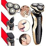 máquina de afeitar afeitadoras eléctricas Multifunción y Tres cabezas USB de Carga 4D Afeitadora eléctrica,Speed-yy®