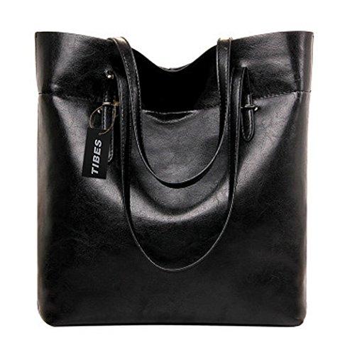 Tibes hochwertige Luxus PU Designer Handtaschen für Damen (Handtaschen Designer)