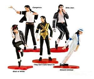 Michael Jackson 5pcs Figure Set Statue poupée FOREVER COOL