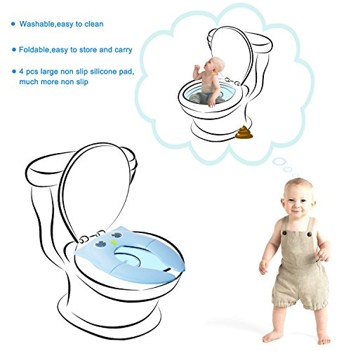 Zoom IMG-1 potty training protable sedile pieghevole