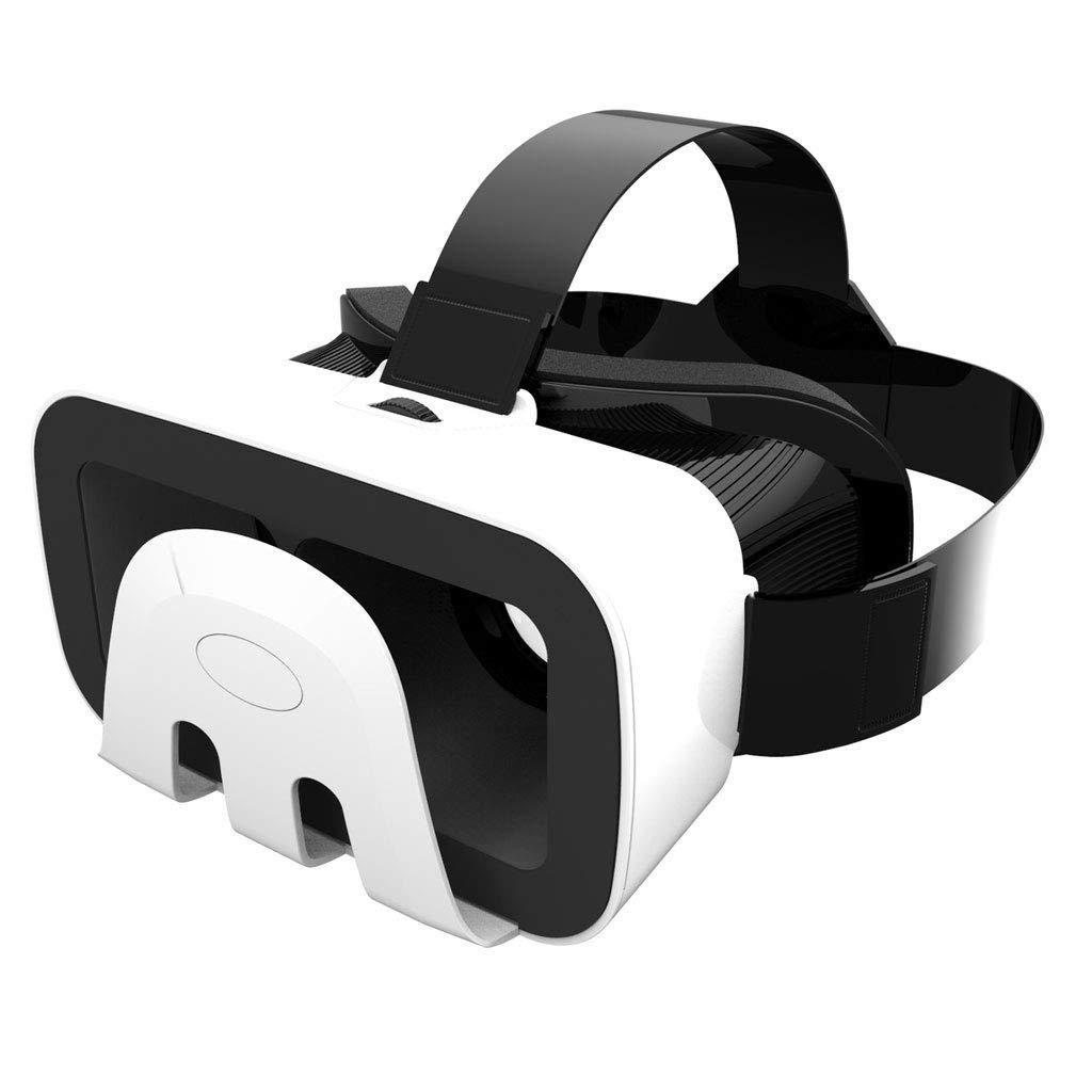 Casque de Réalité Virtuelle, Casque VR Lunettes de réalité virtuelle Verre VR avec lentille réglable et Smartphone avec Prise en Charge de 4,7 à 6,5 Pouces Android Win et iOS Home cinéma Mobile