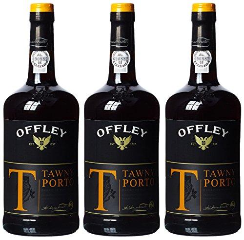 Offley Tawny Port, 19,5% vol, 3er Pack (3 x 750 ml)