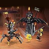 LEGO MOVIE 2 - Batman en armure de combat et Barbe d'acier - 70836 - Jeu de construction