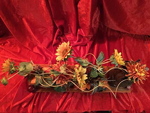 Gesteck mit Sonnenblumen für Tisch oder Fenster