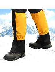Legging Gamaschen für Outdoor Wander Walking the Dog Skifahren Klettern Jagen fucnen Snow Bein Schilde Gamaschen für Damen Herren Kinder Schuh Bezug Wasserdicht Winddicht Schutz Gear für Trekking auf Schnee Sand Jungle