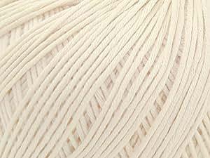 """DMC Natura """"Just coton fil couleur Crochet N35Nacar–par pelote"""