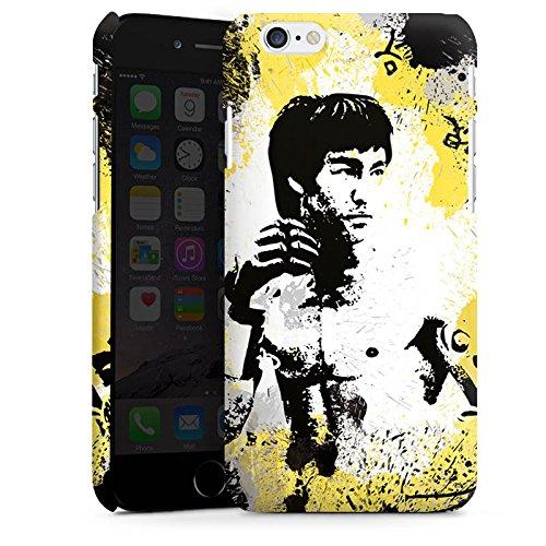 Apple iPhone X Silikon Hülle Case Schutzhülle Bruce Lee Kungfu Karate Premium Case matt