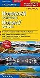 KUNTH Reisekarte Norwegen, Schweden 1:800000