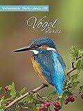 Vögel 2018: Foto-Wochenkalender