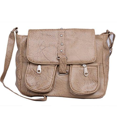 Scarlett Premium Women's Sling bag (Buckskin Color)