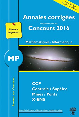 MP Mathmatiques, Informatique