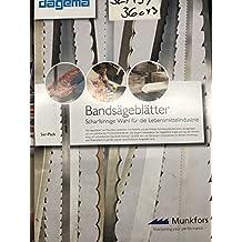 3er Pack SBM Werkzeugstahl S/ägeband 4190 x 20 x 0,8 mm mit 4 ZpZ Bands/ägeblatt