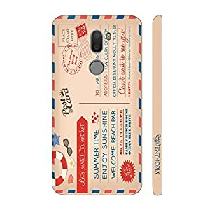 Enthopia Designer Hardshell Case Post Card Invitation Back Cover for Xiaomi Mi 5s Plus