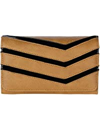Gio Collection Women's Brown Wallet - B07CQNM81R