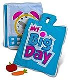 CURIOUS COLUMBUS My Big Day Livre calme. Jouet éducatif pour les tout-petits, les jeunes enfants et la pré-école. Jouets de voyage pour les 3-8 ans...