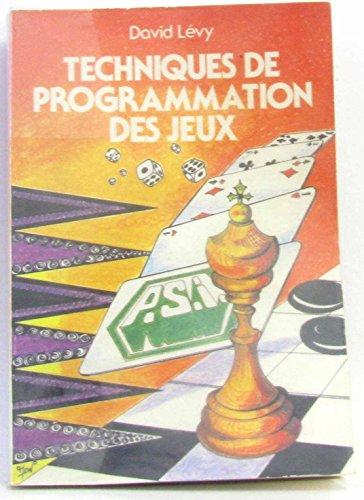 Techniques de programmation des jeux par Lévy