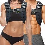 TNT Pro Series Iron Weighted Vest für Damen und Herren - gleichmäßig verteiltes Eisen gefüllte...