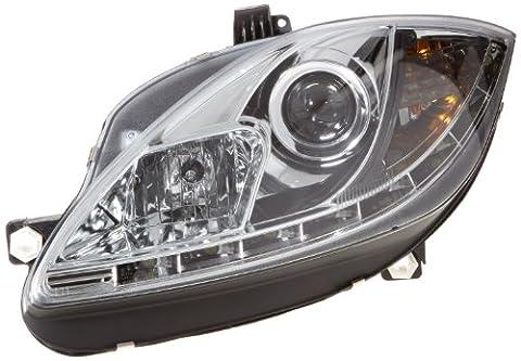 FK Automotive FKFSSE011005 Daylight Scheinwerfer Set Tagfahrlicht Seat Leon 1P Baujahr 09, chrom