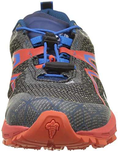 MILLET Light Rush, Chaussures de Trail Mixte Adulte Noir (Orange/Electric Blue)