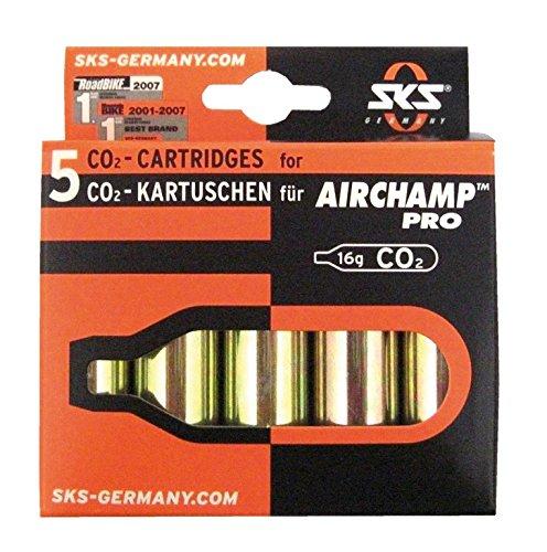 Marke: SKS, Sonstiges: Modell: Co2 Kartuschen 16g 5-er - Kartuschen ohne Gewinde