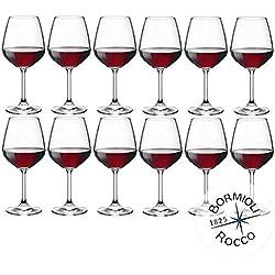 Bormioli Rocco-Divino 53 - Lot de 12verres à vin rouge Capacité: 53 cl