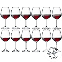 Idea Regalo - Bormioli Rocco - Set 12 Calici Vino Rosso MOD. DIVINO 53 - capacità: 53 cl.