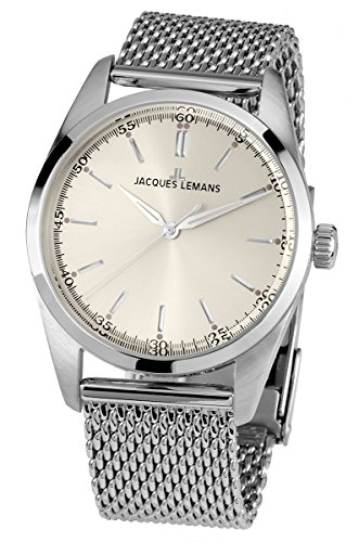 Jacques Lemans Nostalgie N-1559B Ladies Mesh Bracelet Watch