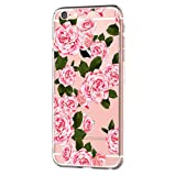vanki iPhone 6 iPhone 6s Hülle Tasten Fonts Schutzhülle Clear Case Cover Bumper Anti-Scratch TPU Silikon Durchsichtig Handyhülle für iPhone 6 Plus/6s Plus (Apple iPhone 6 Plus/6s Plus, Color H)