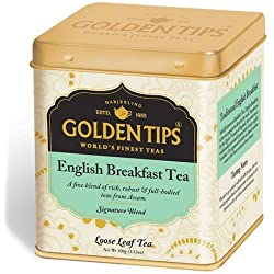 Golden Tips English Breakfast Black Tea - Tin Can, 100g