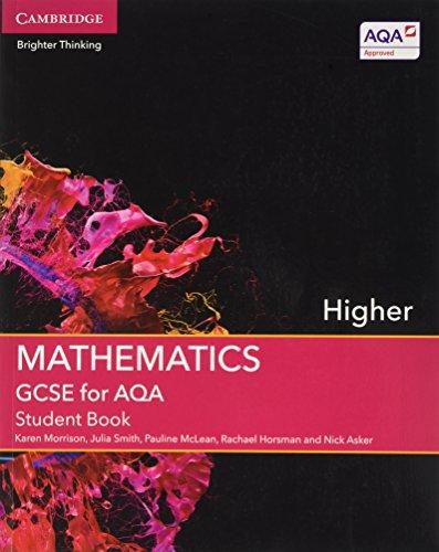 GCSE Mathematics for Aqa Higher Student Book with Online Subscription (2 Years) (Gcse Mathematics Aqa)