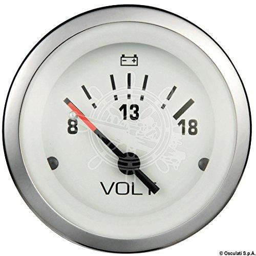 Voltmeter 8/18V Teleflex Edels - Teleflex Voltmeter